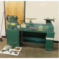 "POWERMATIC MODEL 90 WOOD LATHE, 12"" x 36"" WITH TOOLING"