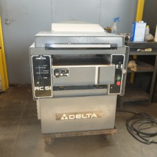 "DELTA INVICTA 20"" WOOD THICKNESS PLANER MODEL  RC51 NEW IN 1985 220 VOLT SINGLE PHASE"