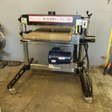 "PERFORMAX 25"" WIDE DRUM SANDER MODEL SUPERMAX 25X2 HD MFG. IN USA SINGLE PHASE"