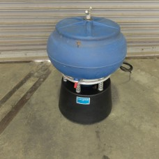 C & M TOPLINE VIBRATORY FINISHING BOWL MODEL LTV-75 .75 CUBIC FOOT USA