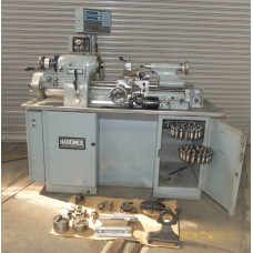 HARDINGE HLVH-EM PRECISION TOOLROOM LATHE INCH/METRIC FULLY TOOLED EXCELLENT CONDITION 1981