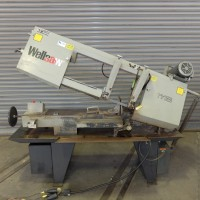 """WELLSAW 13"""" x 18"""" HORIZONTAL BAND SAW WITH COOLANT VARIABLE SPEED MODEL 1118 USA"""
