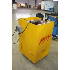ROYSON 1.5 CUBIC FOOT VIBRATORY FINISHING TUB
