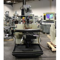 "BRIDGEPORT V2XT 3-AXIS CNC VERTICAL MILLING MACHINE DX32 CONTROL 9"" x 48"" TABLE MINT CONDITION 1997"