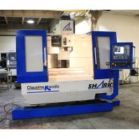"CLAUSING KONDIA SHARK VERTICAL MACHINING CENTER MODEL B-1050 40"" x 20"" x 24""TRAVEL 22 ATC CAT 40 TAPER FAGOR CONTROL YEAR 2001"