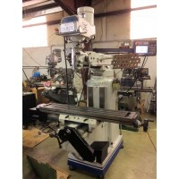 """TURN-PRO VERTICAL MILLING MACHINE WITH 10"""" x 54"""" TABLE AND SOUTHWESTERN INDUSTRIES PROTOTRAK 2-AXIS EMX CONTROL REMOTE JOG MINT CONDITION"""