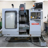 "CLAUSING KONDIA VERTICAL MACHINING CENTER MODEL B-500 23.62 x 15.75 x 14.96"" TRAVEL, DYNAPATH DELTA 50 CONTROL, CAT 40, 1995"