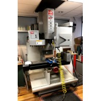HAAS TM-1 VERTICAL MACHINING CENTER TOOLROOM MILL WITH ATC AND 4TH AXIS ROTARY TABLE 2006 FROM PROTOTYPE LAB NICE!
