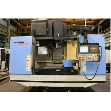 DOOSAN MV4020 VERTICAL MACHINING CENTER WITH KITIGAWA 5TH AXIS INDEXER FANUC 21i-MB CONTROL 2008