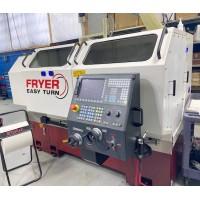 "FRYER ET-21 EASY TURN CNC ENGINE LATHE 21"" x 60""cc WITH SIEMENS 828 CONTROL TURRET 2017 EXCELLENT CONDITION"