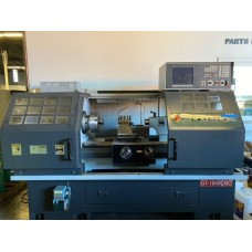 """GANESH 18"""" x 40""""cc CNC LATHE MODEL GT-1840CNC WITH FAGOR 8055 CNC CONTROL 10"""" 3-JAW CHUCK PROGRAMMABLE 4-WAY TOOL POST MFG. IN 2016"""