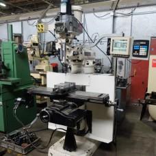 "Bridgeport 2 Axis CNC  Vertical Milling Machine Series I EZ Trak DX CNC Control 9"" X 48"" Table"