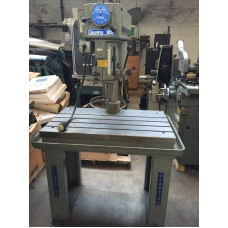 """CLAUSING 20"""" VARIABLE SPEED DRILL PRESS MODEL 2286 WITH T-SLOTTED PRODUCTION TABLE USA"""