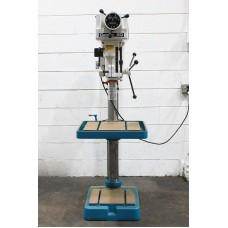 "CLAUSING 20"" VARIABLE SPEED DRILL PRESS MODEL 2272 IN LIKE NEW CONDITION"