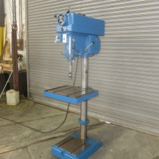 "CLAUSING 20"" VARIABLE SPEED FLOOR MODEL DRILL PRESS MODEL 2276 WITH PRODUCTION TABLE 1.5 HP"