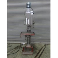 "WILLIS SOLBERGA 30"" GEAR HEAD DRILL PRESS WITH POWER DOWNFEED AND AUTO REVERSE MODEL 10"