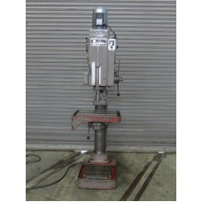 """WILLIS SOLBERGA 30"""" GEAR HEAD DRILL PRESS WITH POWER DOWNFEED AND AUTO REVERSE MODEL 10"""