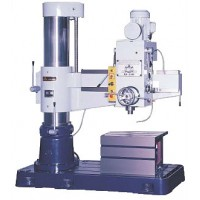 """WILLIS RD1100 RADIAL ARM DRILL 45"""" ARM x 11 3/4"""" COLUMN 5 HP 4 MORSE TAPER HEAVY DUTY WITH BOX TABLE & FLOOD COOLANT"""