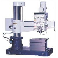 """WILLIS RD1300H RADIAL ARM DRILL 7.5 HP 51"""" ARM WITH BOX TABLE FLOOD COOLANT HYDRAULIC CLAMPING"""