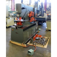 SPARTAN 110 TON IRONWORKER DUAL CYLINDER MODEL IW110DX MARVEL SPARTAN ARMSTRONG BLUM
