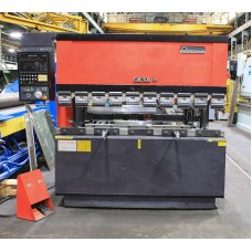 "AMADA 55 TON UP-ACTING HYDRAULIC CNC PRESS BRAKE MODEL FBD-5020E 82.1"" MAX. BENDING LENGTH NEW 1988"