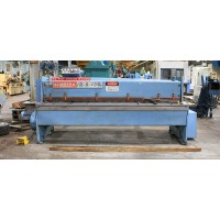 NIAGARA 8' x 10' POWER SQUARING SHEAR MODEL 1R8-10 NEW IN 1983