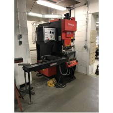 AMADA SPH-30C SINGLE STATION PUNCH PRESS - PRESS BRAKE WITH 2-AXIS CNC POSITIONING CONTROL 1993