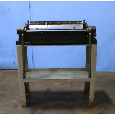 """DIACRO MODEL 24HFB FINGER BRAKE 24"""" x 16 GAUGE BOX AND PAN BRAKE"""
