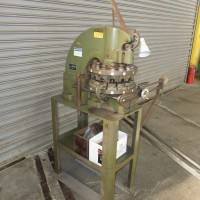 DIACRO #12 MANUAL TURRET PUNCH 4 TON CAPACITY ON FACTORY STAND