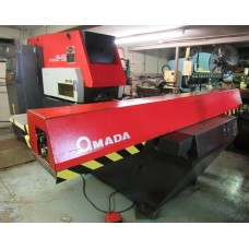 AMADA ARIES 245 CNC TURRET PUNCH 22 TON CAPACITY WITH TOOLING IN PLANT UNDER POWER