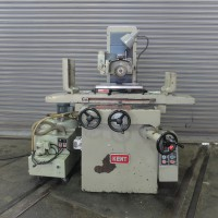 "KENT 8"" x 18"" BALL ROLLER TYPE HAND FEED SURFACE GRINDER WITH O.S. WALKER 8"" x 18' FINE POLE PERMANENT MAGNETIC CHUCK AND DUST SUCTION/COOLANT SYSTEM"