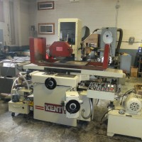"KENT 12"" x 24"" 3-AXIS AUTOMATIC SURFACE GRINDER MODEL KGS-306AHD WITH INCREMENTAL DOWNFEED 1988"