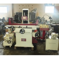 """KENT 10"""" x 20"""" 3-AXIS AUTOMATIC SURFACE GRINDER WITH INCREMENTAL DOWN FEED FINE POLE PERMANENT MAGNETIC CHUCK OVER THE WHEEL DRESSER DUST SUCTION AND COOLANT NEW IN 2000"""
