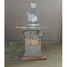 "REID 6"" x 18"" 2-AXIS AUTOMATIC SURFACE GRINDER WITH O.S. WALKER FINE POLE PERMANENT MAGNETIC CHUCK LOW PRICE"