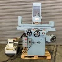 "MITSUI 8"" x 18"" 3-AXIS AUTOMATIC SURFACE GRINDER WITH INCREMENTAL AUTOMATIC DOWNFEED MODEL 250H-2H 1983 REBUILT"
