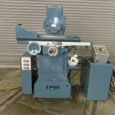"""JONES & SHIPMAN 6"""" x 18"""" 2-AXIS AUTOMATIC SURFACE GRINDER MODEL 540P WITH FINE POLE ELECTRO-MAGNETIC CHUCK EXCELLENT CONDITION"""