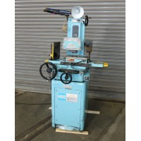 """BOYAR SCHULTZ 6"""" x 12"""" HAND FEED SURFACE GRINDER WITH BUILT IN DUST COLLECTOR MODEL H612 WALKER 6"""" x 12"""" FINE POLE PERMANENT MAGNETIC CHUCK"""
