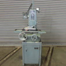 HARIG 612 HAND FEED SURFACE GRINDER MODEL SUPER 612 WITH WALKER FINE POLE PERMANENT MAGNETIC CHUCK  AND FINE DOWNFEED