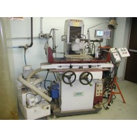 "MSC SUNNY MODEL SGS-618M HAND FEED SURFACE GRINDER 6"" x 18"" WITH ACU-RITE DIGITAL READ OUT, DUST SUCTION & COOLANT 1997"