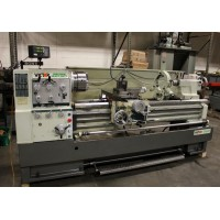 "VICTOR MODEL 2060E ENGINE LATHE REMOVABLE GAP BED 20"" x 60""cc SWINGS 28.5"" OVER GAP INCH METRIC FULLY TOOLED"