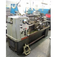 "CLAUSING-COLCHESTER 15"" x 50""cc ENGINE LATHE, 2000 RPMS, WITH 10"" 3-JAW CHUCK, STEADY REST, NICE"