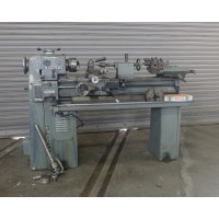 """CLAUSING 12"""" x 36"""" VARIABLE SPEED ENGINE LATHE FULLY TOOLED MODEL 5912 WITH 3-JAW CHUCK,4-JAW CHUCK,5C COLLET CLOSER,COMPOUND TURRET,ALORIS TOOL POST"""