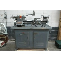 """SOUTH BEND HEAVY 10 ENGINE LATHE 10"""" x 20""""cc WITH 5C LEVER TYPE COLLET CLOSER"""