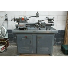 "SOUTH BEND HEAVY 10 ENGINE LATHE 10"" x 20""cc WITH 5C LEVER TYPE COLLET CLOSER"