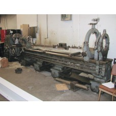 "MEUSER 32"" x 160""cc ENGINE LATHE INCH METRIC FULLY WITH TOOLING IN PLANT UNDER POWER"
