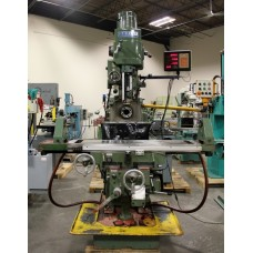SHARP VH3 HEAVY DUTY COMBINATION HORIZONTAL VERTICAL MILLING MACHINE TURRET TYPE WITH INDEPENDANT MOTORIZED SPINDLES EXCELLENT CONDITION