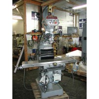 """ACER E-MILL MODEL 3VSII VERTICAL MILLING MACHINE 9"""" x 49"""" TABLE WITH NEWALL DIGITAL READ OUT, LONGITUDINAL POWER FEED, POWER CROSS FEED, POWER KNEE FEED, POWER DRAWBAR, COOLANT, 2011"""