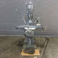 """BRIDGEPORT MODEL 1J PULLEY TYPE VERTICAL MILLING MACHINE WITH 9"""" x 42"""" TABLE IN MINT CONDITION WITH TOOLING USA"""
