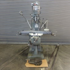 "BRIDGEPORT MODEL 1J PULLEY TYPE VERTICAL MILLING MACHINE WITH 9"" x 42"" TABLE IN MINT CONDITION WITH TOOLING USA"