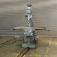 """BEAVER VERTICAL MILLING MACHINE MODEL VBRP WITH 10"""" x 56"""" TABLE WITH POWER FEED BALDING MILL"""